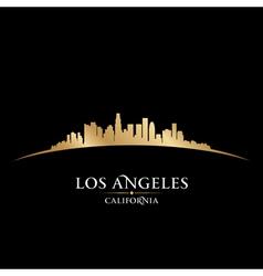 Los Angeles California city skyline silhouette vector image vector image