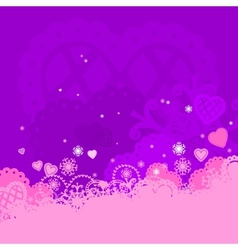 Background of valentines day vector