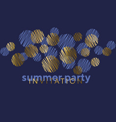 abstract geometric luxury elegant pattern vector image