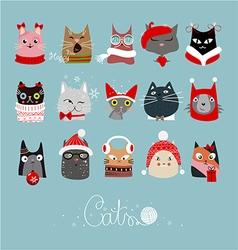 Cats 3123 vector