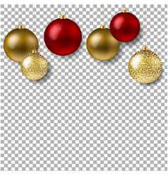 Christmas ball isolated vector