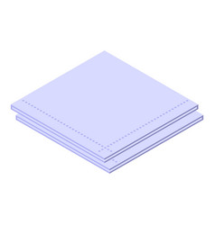 Cleaning handkerchief icon isometric style vector