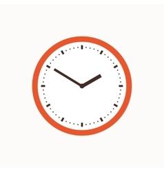 Colorful clock icon vector