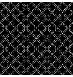 Crisscross pattern vector