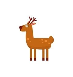 Deer Simplified Cute vector