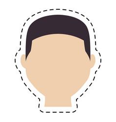 Guy cartoon icon vector