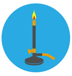 Isolated lighter icon vector