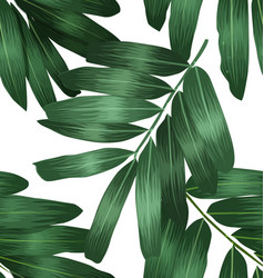 seamless foliage pattern5 vector image