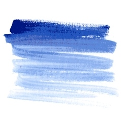 Water-color blue background vector image vector image
