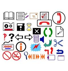 logo signs vector image vector image