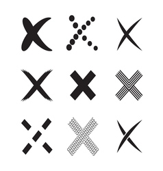 Confirm check marks icons4 vector