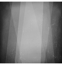 Film noir styled abstract screen Old cinema vector image vector image