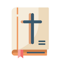 Bible flat vector