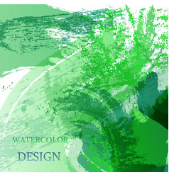 Colorful abstract watercolor texture stain with vector
