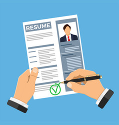 employment and hiring concept vector image