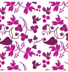 floral filigree background vector image