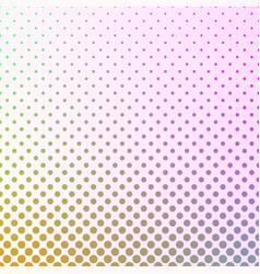 Halftone circle pattern background - gradient vector