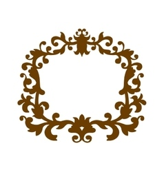 Luxury monogram template vector