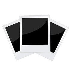 Polaroid photo vector