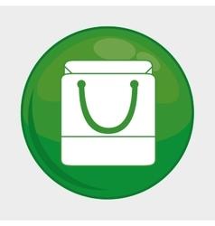 shopping bag icon Social media design vector image