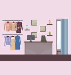 Summer mode store poster vector