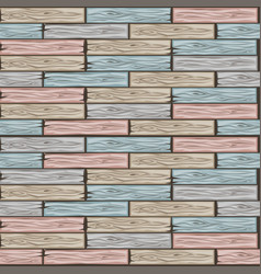 Wood floor tiles pattern seamless texture wooden vector