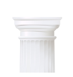 classic style column vector image vector image