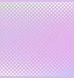 retro gradient heart pattern background design - vector image vector image