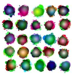 Speech bubbles icon set vector image vector image