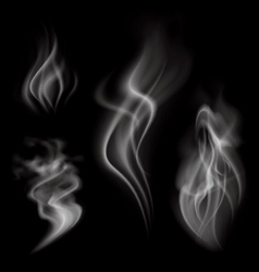 Realistic Smoke vector image