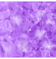 Abstract Purple Polygonal Background vector