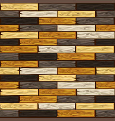 colored wood floor tiles pattern seamless texture vector image