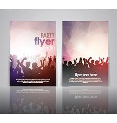 party flyer design 2502 vector image