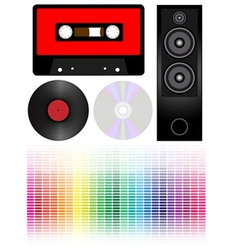 audio vector image vector image
