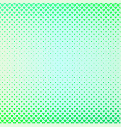 gradient color heart pattern background - love vector image vector image