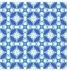 Seamless winter ornament vector image vector image