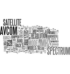 Avcom the best in the market text word cloud vector