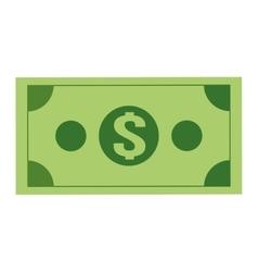 dollar bill icon vector image