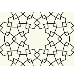 Gorgeous Seamless Arabic Pattern Design vector