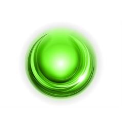Light round center green vector