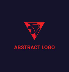 Logo design abstract symbol for any vector