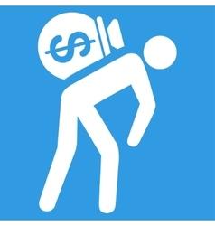 Money Courier Icon vector
