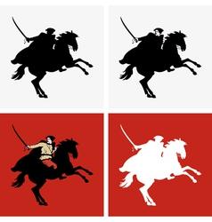 Rider vector image