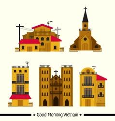 Vietnam Town vector image