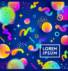 abstract festive multicolored background vector image vector image