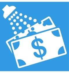 Money Laundry Icon vector image