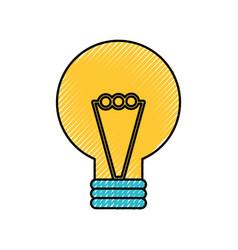 creativity idea bulb knowledge solution concept vector image