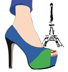 Fashion in Paris 2 vector