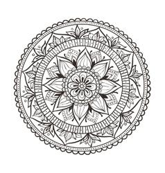 mandala Circular vector image