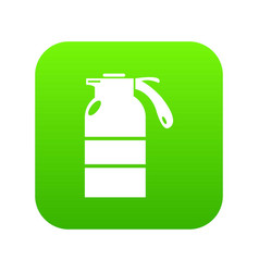 sprayer container icon green vector image